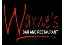 Warne's bar and restaurant logo