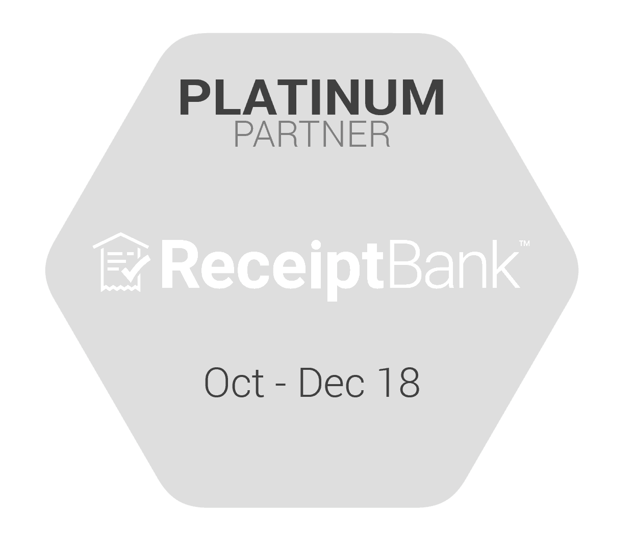 Platinum Partner ReceiptBank
