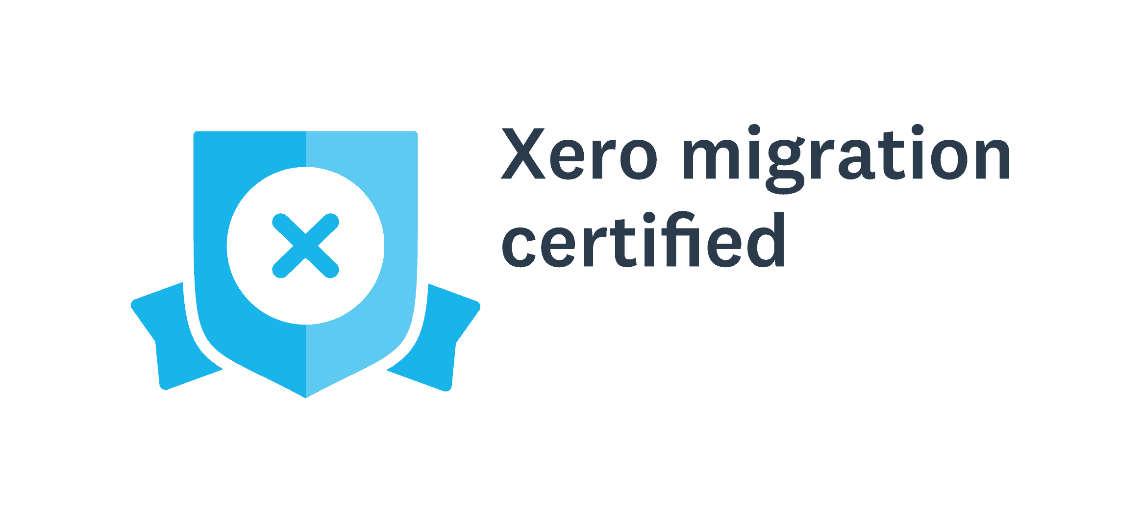 Xero Migration Certified Badge